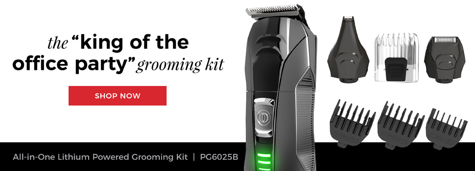 Remington Outdo The Day. The 'king of the office party' grooming kit. All In One Grooming Kit | PG6025B