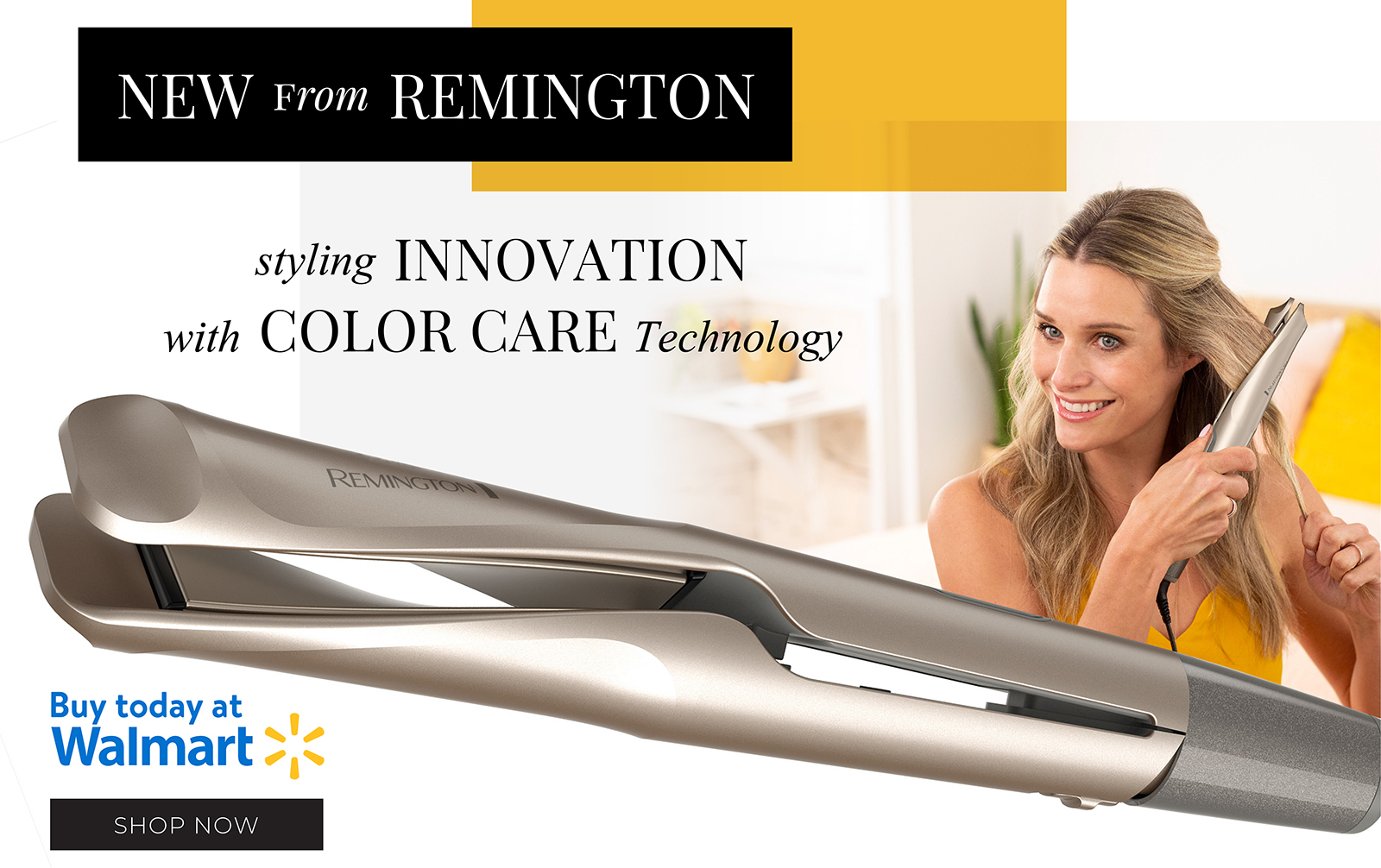 Styling innovation with color care technology.  Buy today at walmart.