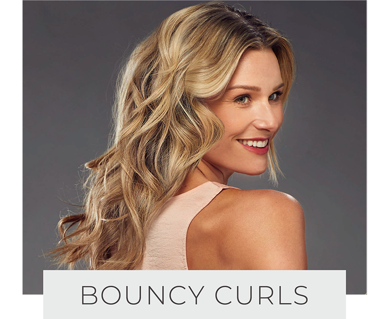 bouncy curls
