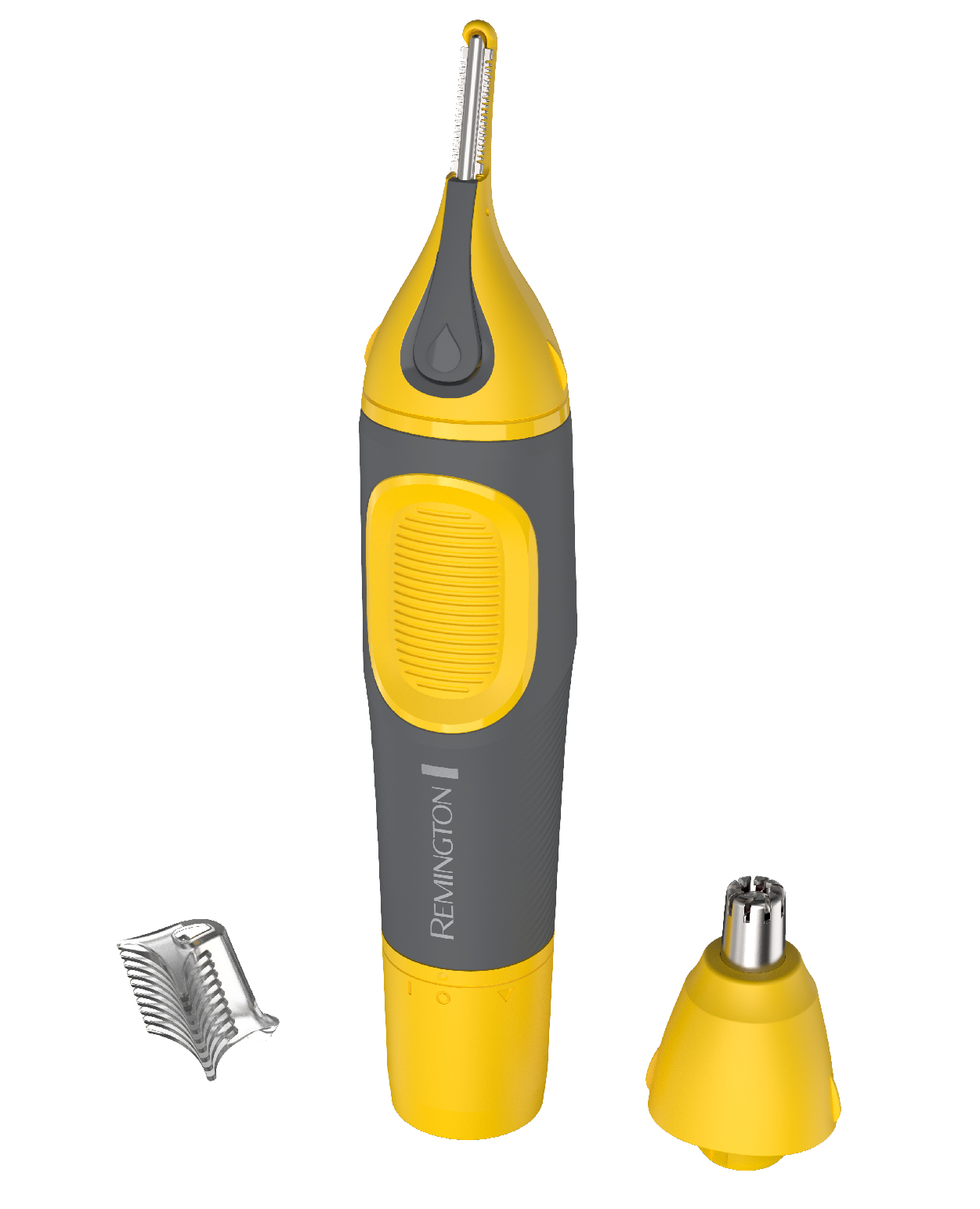Remington Virtually Indestructible Nose, Ear & Brow Trimmer, Yellow, NE3871