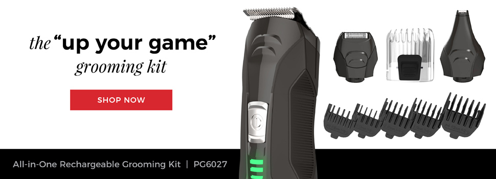 Remington Outdo The Day. The 'up your game' grooming kit. Lithium 16-Piece All In One Grooming Kit | PG6027