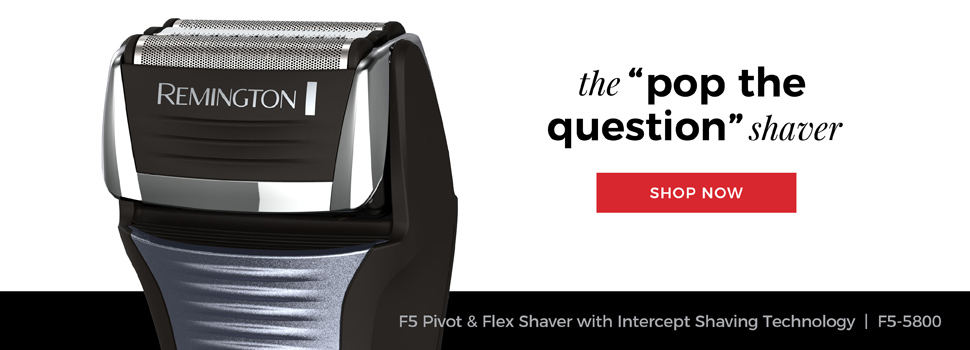 Remington Outdo The Day. The 'pop the question' shaver. F5 Power Series Shaver | F5-5800