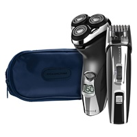 R5 Rotary Shaver with shaver pouch and Precision Power Beard, Goatee, & Stubble Trimmer
