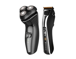 Rotary shaver and hair clipper