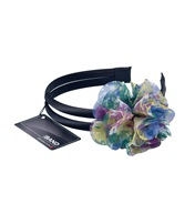 Water color fower headband